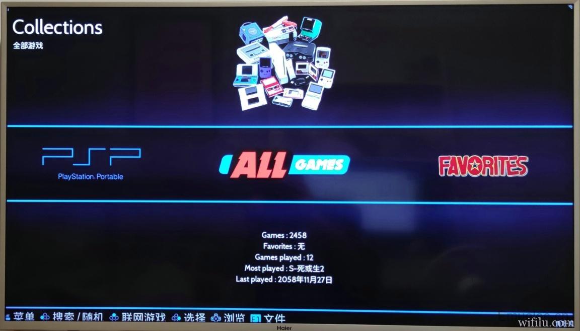 Emuelec4.2 128GB PSP/PS中文游戏加强整合镜像
